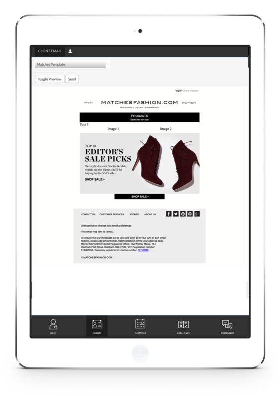 proximity insight client communications review ipad
