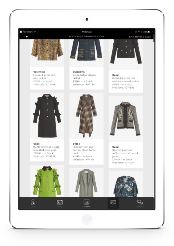 proximity insight product catalogue ipad